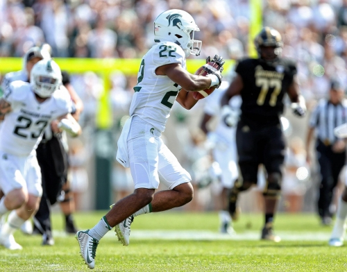 Michigan State football's Josiah Scott out for two months with injury