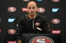 Robert Saleh on D.J. Reed, Sheldon Day, Kyle Shanahan's use of tight ends