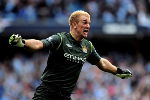 Man City goalkeeper Joe Hart joins Burnley