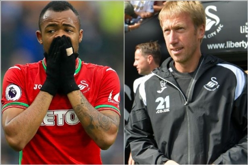 Graham Potter blasts Swansea City's Jordan Ayew after striker refuses to train with first team