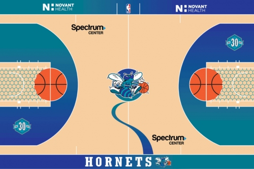 """Charlotte Hornets unveil """"Classic Court"""" for upcoming season"""