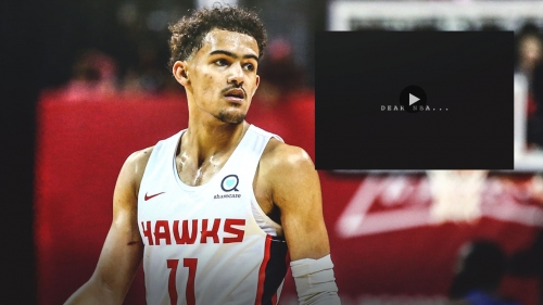 Hawks' Trae Young posts message called 'Dear NBA'