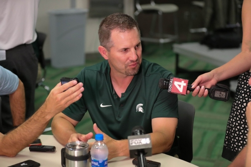 Michigan State football: Press box or sideline for DC Mike Tressel?