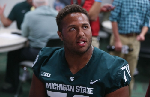 Michigan State football has 1 OL spot open. Who leads the competition?