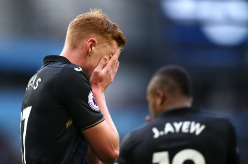 Stoke City join Wolves in chase to sign Swansea City midfielder Sam Clucas but Ryan Woods deal takes twist