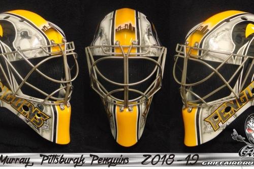 Matt Murray unveils new paint job on 2018-19 goalie mask