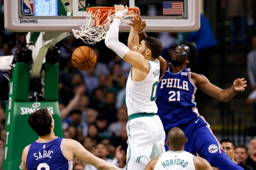 Celtics open season against two Eastern Conference contenders