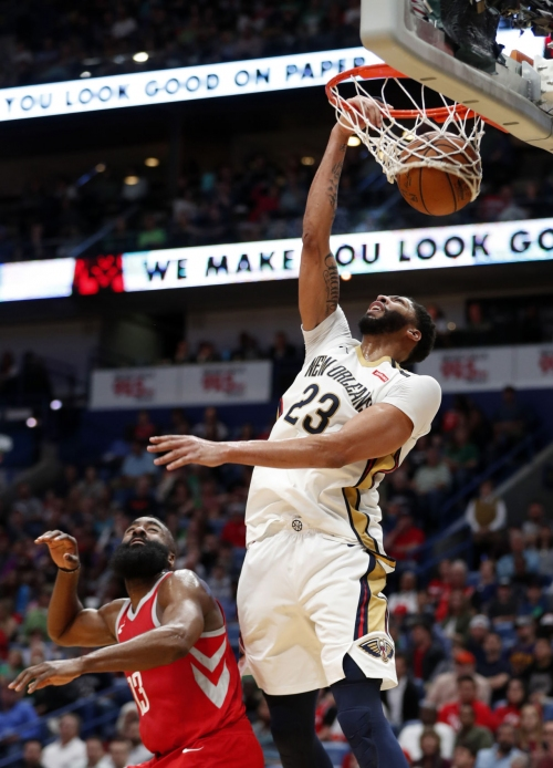 Ready or not: New Orleans Pelicans draw Houston Rockets in 2018-19 season-opener