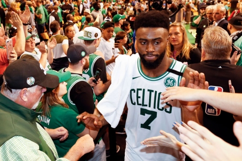 "Jaylen Brown on the Celtics in the Finals: ""No question about it."""