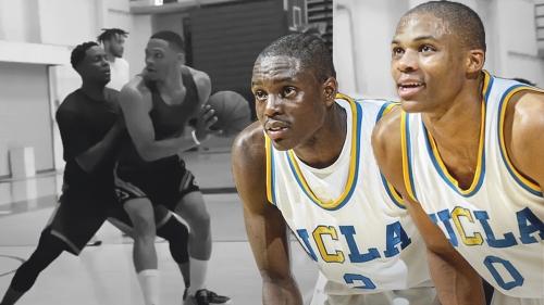 Former UCLA teammates Russell Westbrook, Darren Collison go at it in open run