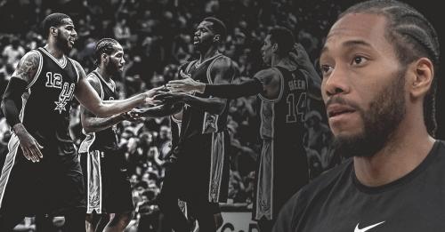 Kawhi Leonard releases first statement thanking Spurs