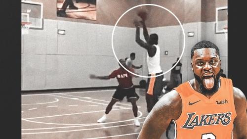 Video: Lance Stephenson looks like he's in midseason form