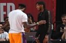 Brandon Ingram, LeBron James Work Out Together At Lakers Practice Facility
