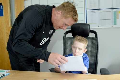 Watch: The heartwarming story of how Garry Monk made this little Birmingham City fan's dream come true