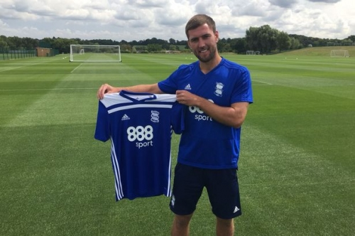 'KRO' - Gary Gardner's message after signing for Birmingham City from Aston Villa