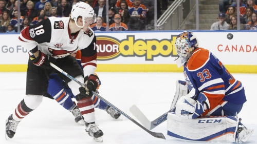 Coyotes sign Christian Dvorak to six-year extension