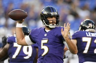 Flacco, Jackson lead TD drives as Ravens beat Rams 33-7