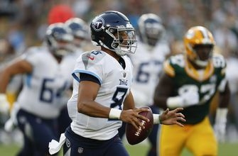 Mariota looks sharp for Titans; Packers' Adams goes deep