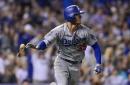 Dodgers ambush Rockies late to win battle of bullpen meltdowns