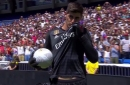 Thibaut Courtois infuriates Chelsea fans by kissing Real Madrid badge