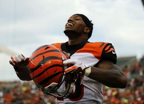 Cincinnati Bengals' stars take turns shining against the Chicago Bears