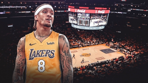 Michael Beasley doesn't think Lakers are playoff-bound just yet
