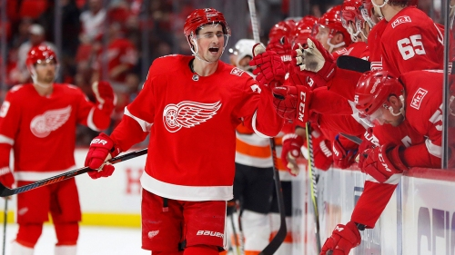 Red Wings sign forward Dylan Larkin to 5-year contract