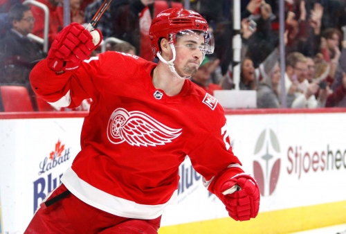 Detroit Red Wings re-sign Dylan Larkin to 5-year contract