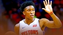 Pistons' Stanley Johnson took an entire drumline to perform in front of Andre Drummond's home