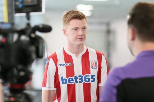 There's no worries over Sam Clucas injury record says Stoke City boss