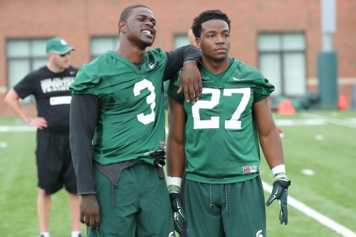 LJ Scott takes over Michigan State RB job, 'can't wait to see' backups