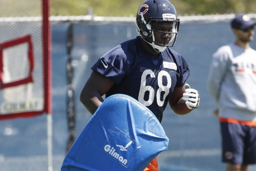 Bears vs Bengals game ball goes to James Daniels