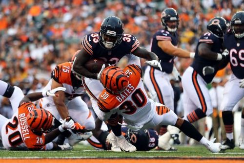 The Bear pause: James Daniels bullies the Bengals and Adam Shaheen shines