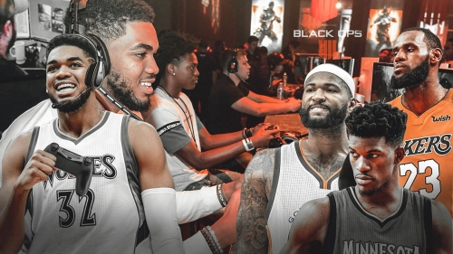EXCLUSIVE: Karl-Anthony Towns talks Call of Duty, Timberwolves, LeBron James, DeMarcus Cousins, and Donald Trump