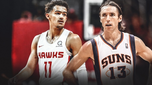Hawks' Trae Young says Steve Nash was his favorite player growing up