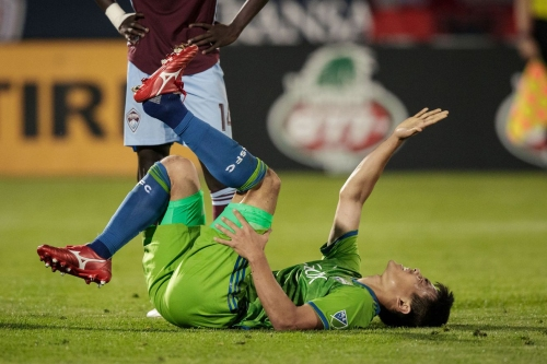 Sounders health update: they're all still tough kids