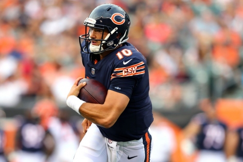 """Mitchell Trubisky expects """"better"""" from his """"sloppy"""" offense"""
