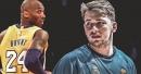 Luka Doncic gets signed Kobe Bryant jersey