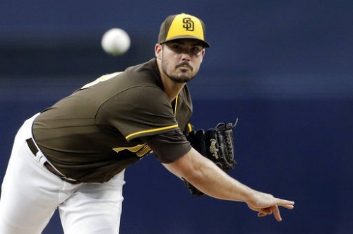 Padres' Nix shuts down Phillies in MLB debut 2-0