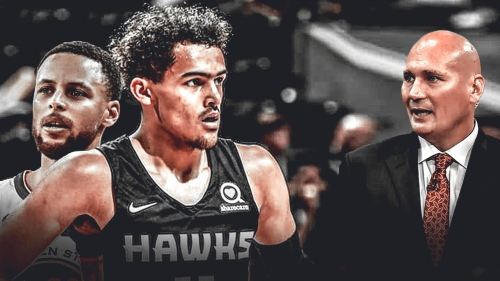 Trae Young says Travis Schlenk never talks to him about Warriors, Stephen Curry