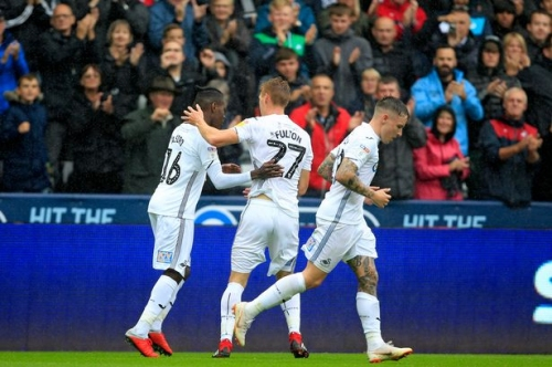 Swansea City 1 Preston 0: Jay Fulton's fine header seals three points for slick Swans