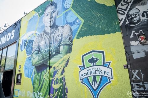Mural is latest sign of how Seattle has embraced Raúl Ruidíaz