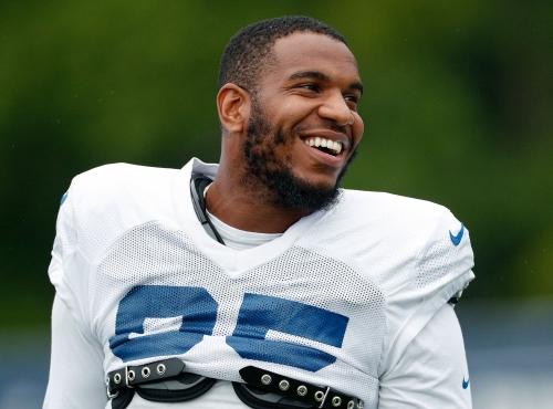 Eric Ebron living his best life with the Colts