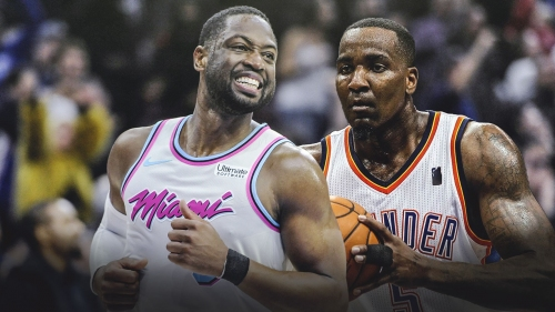 Dwyane Wade hilariously reminds Kendrick Perkins how he once owned him