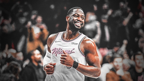 Dwyane Wade catches over 300 Jr. NBA World Championship players by surprise with visit