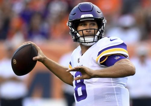 Vikings QB Kirk Cousins sharp in debut at Denver even if it was just one series