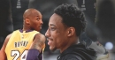 DeMar DeRozan previews an unreleased Kobe Bryant sneaker