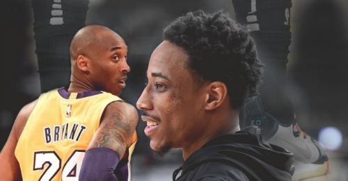 DeMar DeRozan previews an unreleased Kobe Bryant sneaker