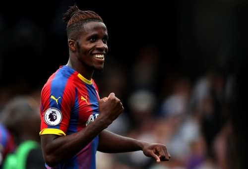 Wilfried Zaha responds to failed Chelsea transfer after starring in Crystal Palace win over Fulham