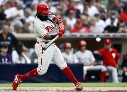 Nola gets 13th win, Phils top Padres 5-1 to sit atop NL East